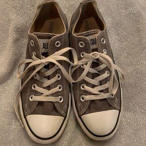 All Star Grey Converse S: 8 women's & 6 men's
